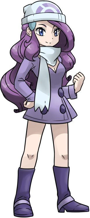 Angelica is Abelia's rival even though she's a pokémon coordinator