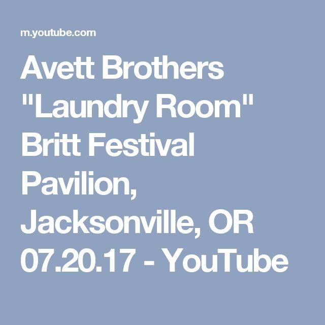 """Avett Brothers """"Laundry Room"""" Britt Festival Pavilion, Jacksonville, OR 07.20.17 - YouTube"""