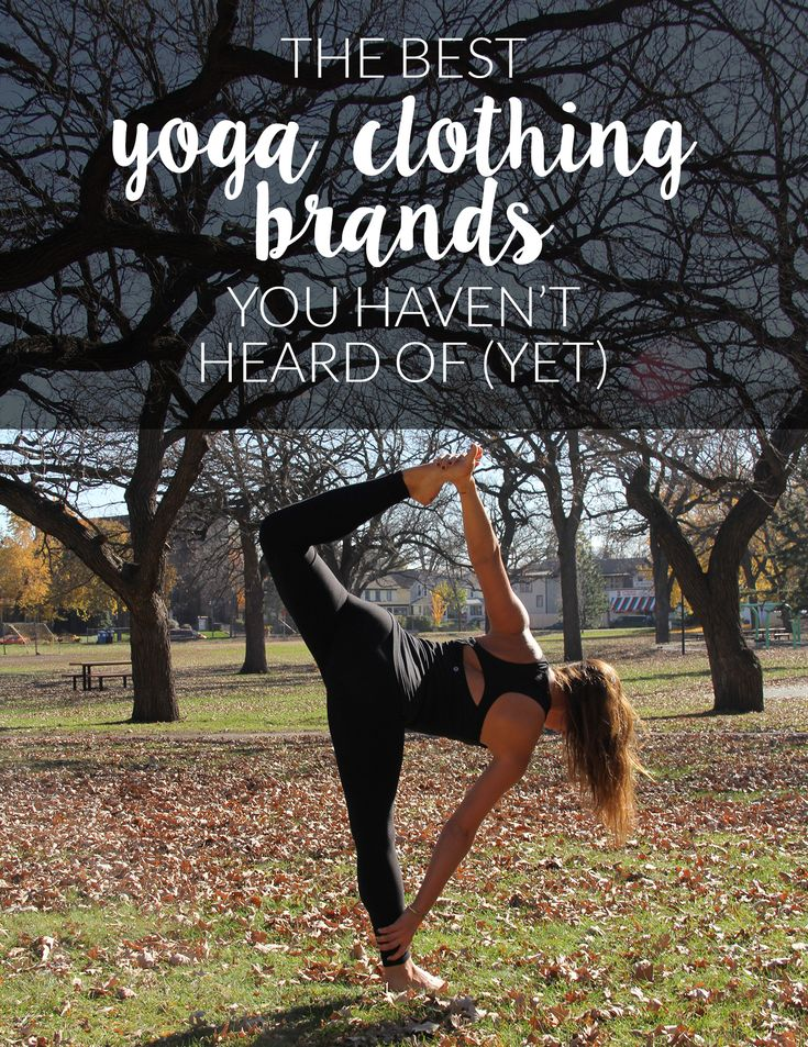 Yoga clothing brands