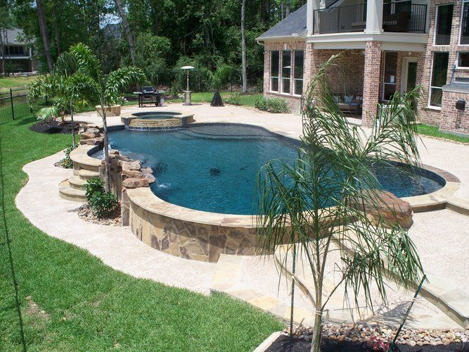 Use An Above Ground Pool Build Around Pool Swim