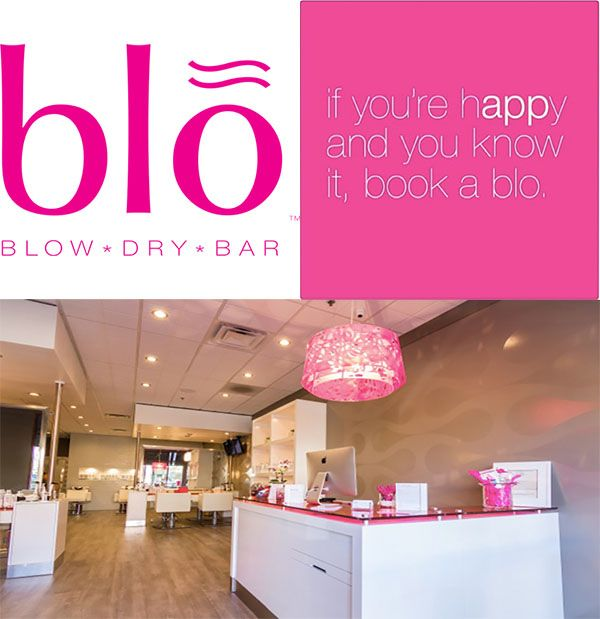 Blo Blow Dry Bar in Carlsbad for all your wedding hair needs.