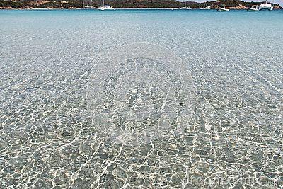 Beach in corsica - corse france
