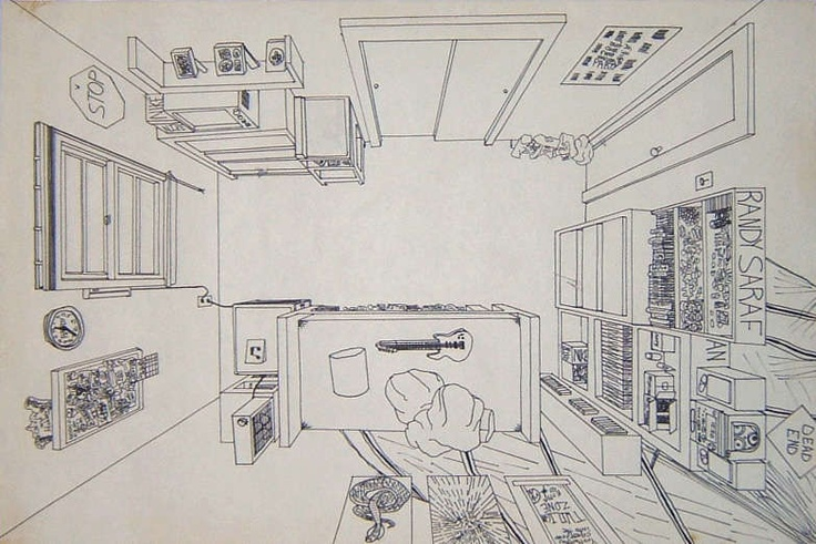 linear 3 point perspective how to