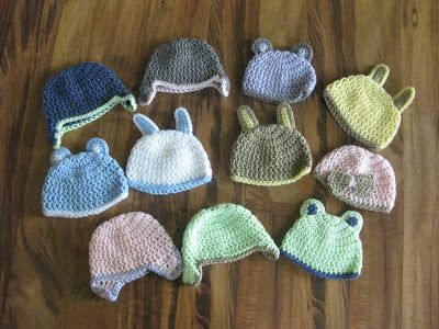 That's Sew Julie: Preemie and Newborn Crochet Hat Pattern