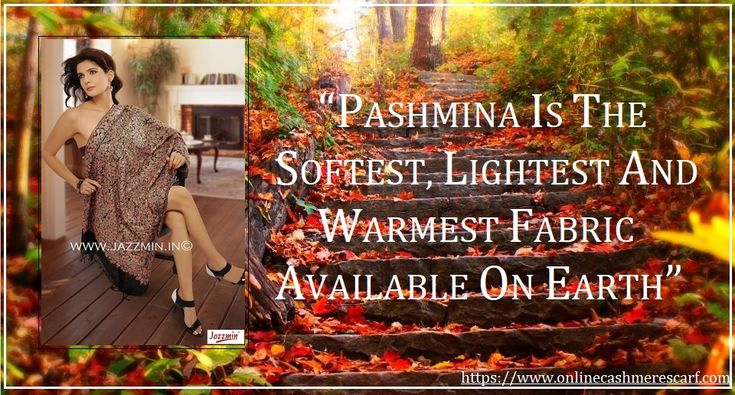 Cashmere Pashmina is the softest, lightest and warmest natural fabric available on earth. Buy a cashmere scarf from http://www.onlinecashmerescarf.com/ and enjoy cashmere scarf sale with free worldwide delivery