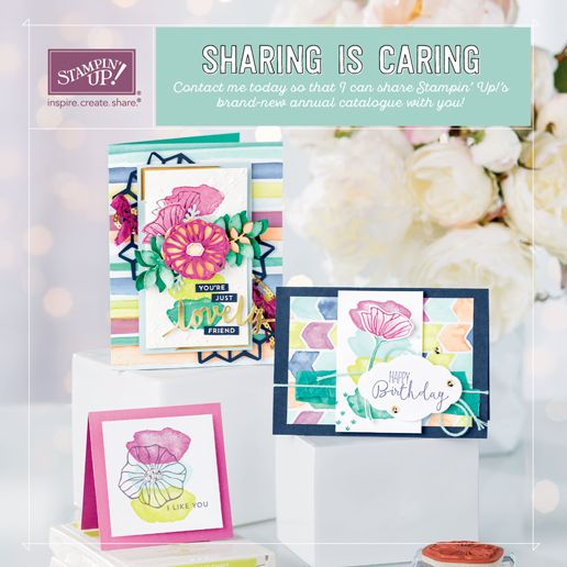 New 2017-2018 Stampin' Up! annual catalogue is finally live! It is so beautiful! There is so much to love!