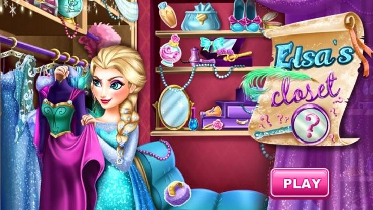 In Elsa Closet Challenge, Elsa has to get ready for a date with Jack, but she can't find her things in time, can you help her find out? Pearls, tiaras and teacups are scattered around the bedroom, Elsa's dress will change when you find them. As fast as possible because time is limited! Then dress up Elsa after you find all things. Have fun playing with Elsa!
