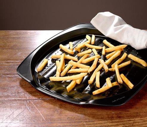 Kızartma Tepsisi 1 Kaşık Yağ İle 1kg Patates Kızartır