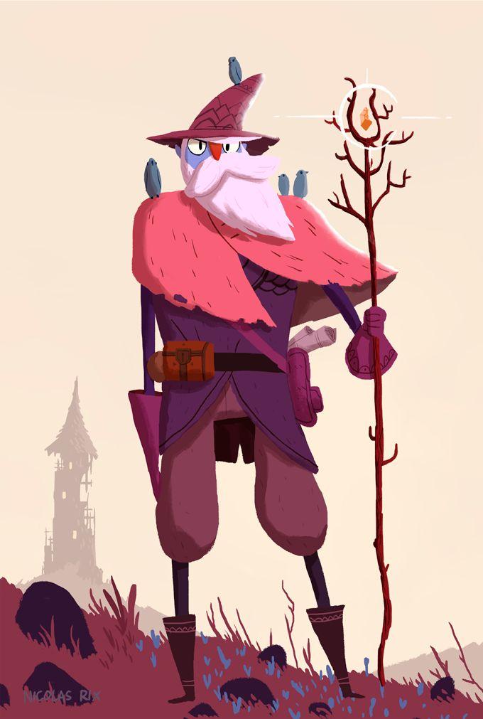 Character Designs - Nicolas Rix