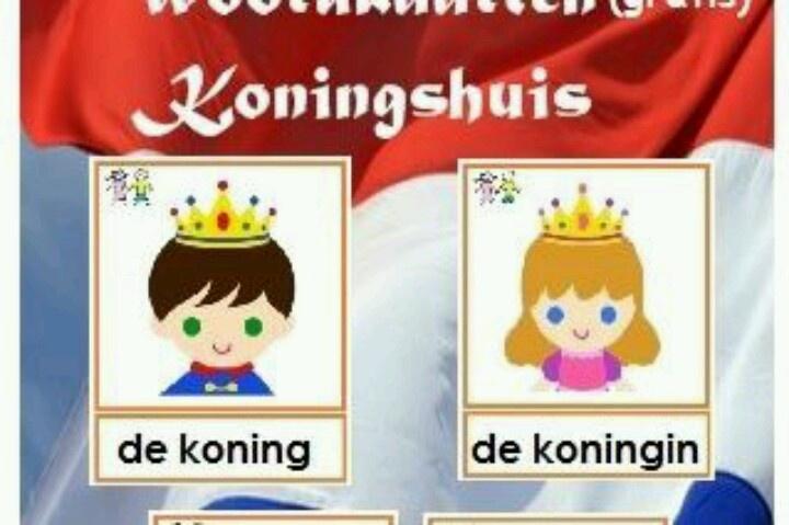 Als voorbereiding op de troonwisseling, hebben wij 22 woordkaarten van ons Koninshuis. Deze kan je gratis downloaden vanaf de website www.peuteractiviteitenweb.nl Veel plezier!
