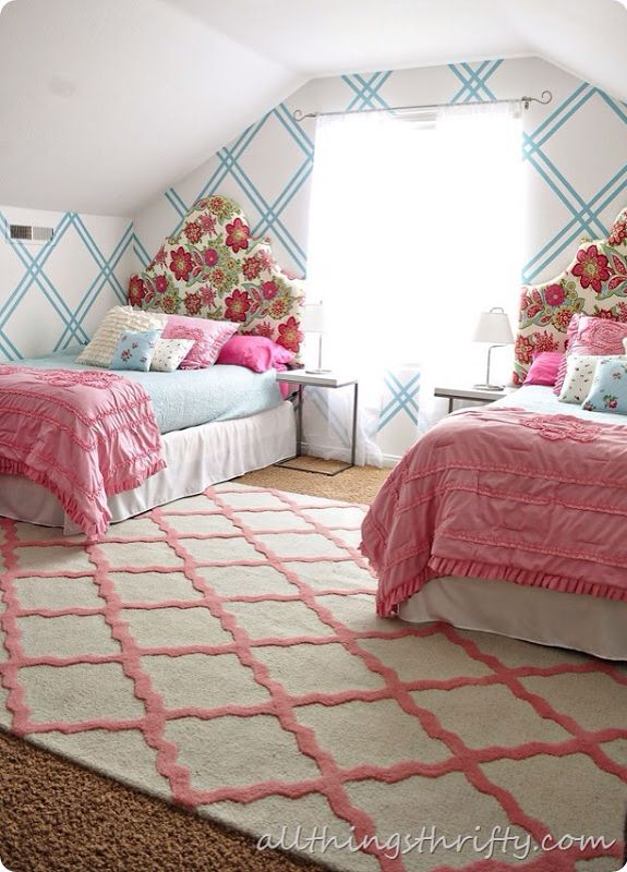 Captivating Girls Bedroom.