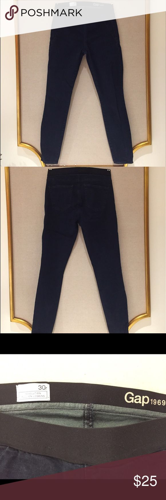 Gap Women's Jegging Pants *worn once* This comfortable yet stylish Gap Women's Jegging Pants is every thing a women could want in a pair of pants! With these practically new pants you could practically do the splits in them all while still rocking your whole outfit! GAP Pants Straight Leg