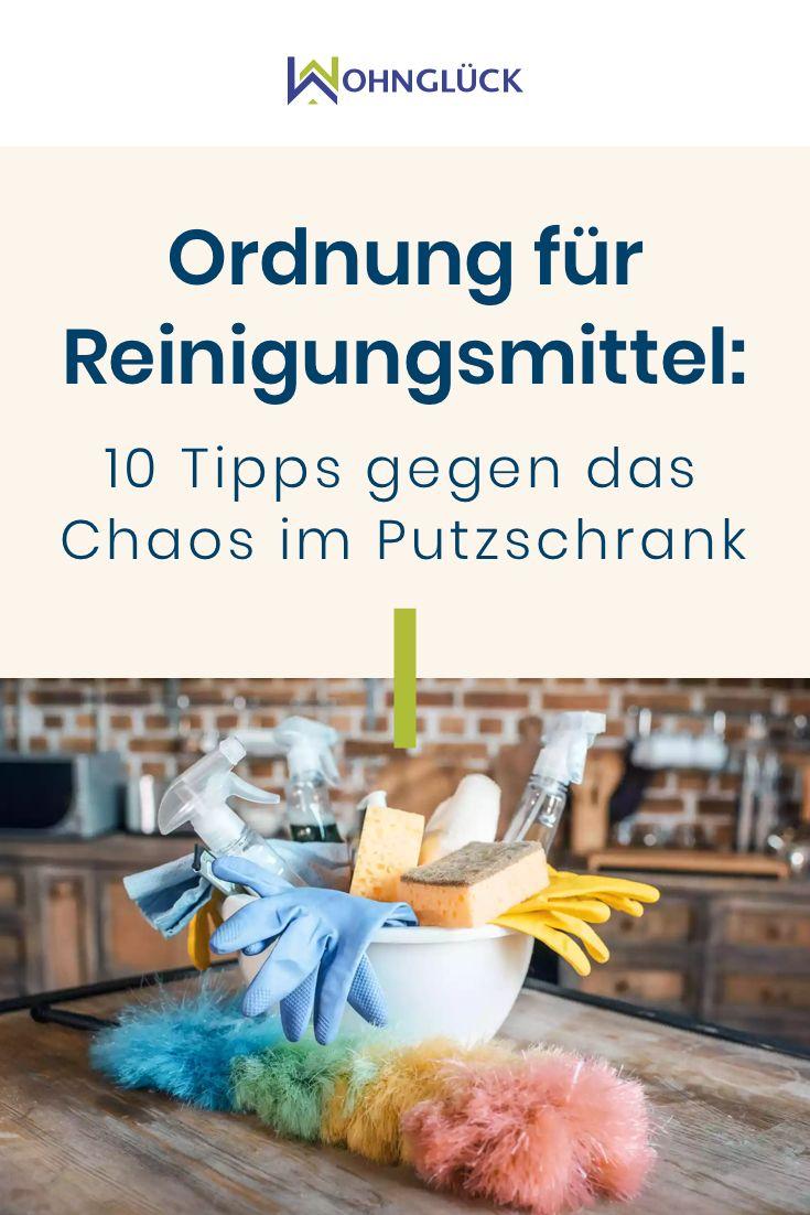 Ordnung Fur Reinigungsmittel 10 Tipps Gegen Das Chaos Im