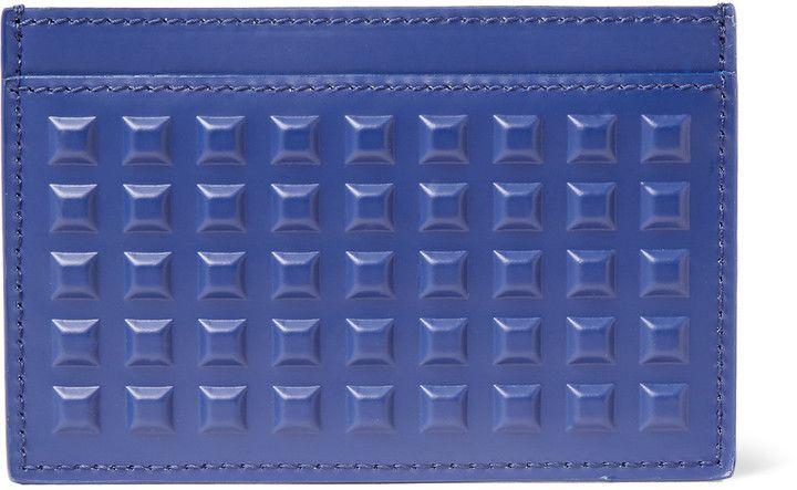 Balenciaga Studded Leather Cardholder