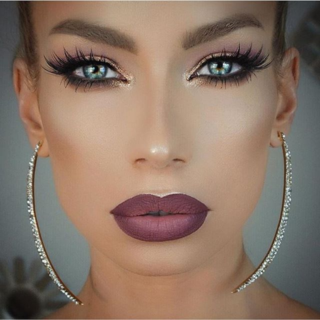 """""""Love this look @nikkifrenchmakeup wearing #StardustPalette on eyes✨ ___ #vegas_nay"""" Photo taken by @vegas_nay on Instagram, pinned via the InstaPin iOS App! http://www.instapinapp.com (12/22/2015)"""