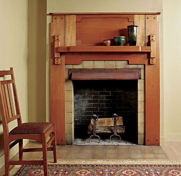 78 Images About Craftsman Style Fireplaces On Pinterest: 22 Best Images About Arts And Crafts Fireplaces On