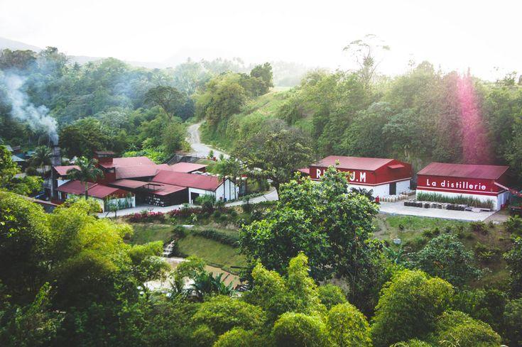 Distillerie de rhum JM à Macouba Martinique