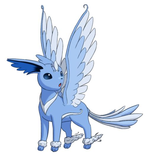 flying eeveelution | Fake Pokemon - This is Zephyreon, the Flying type Eeveelution.