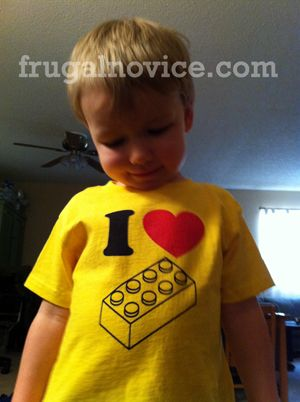 Lego shirt for Big Brother