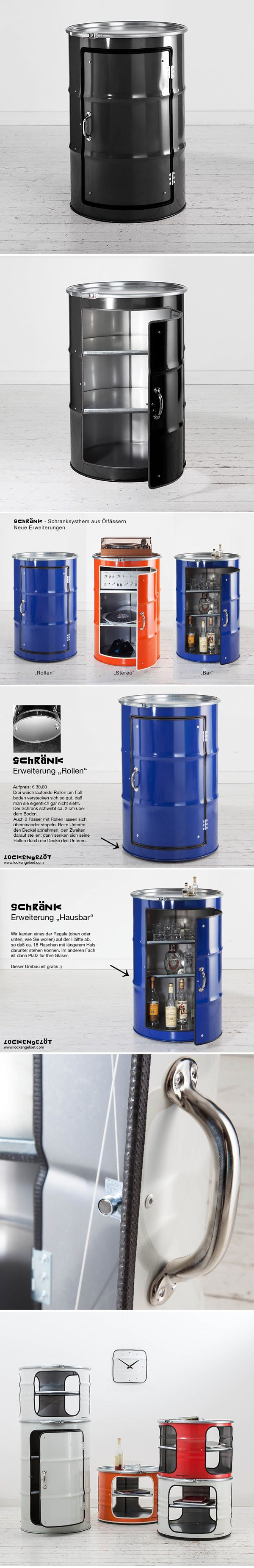 SCHRÄNK -s- Ölfassschrank