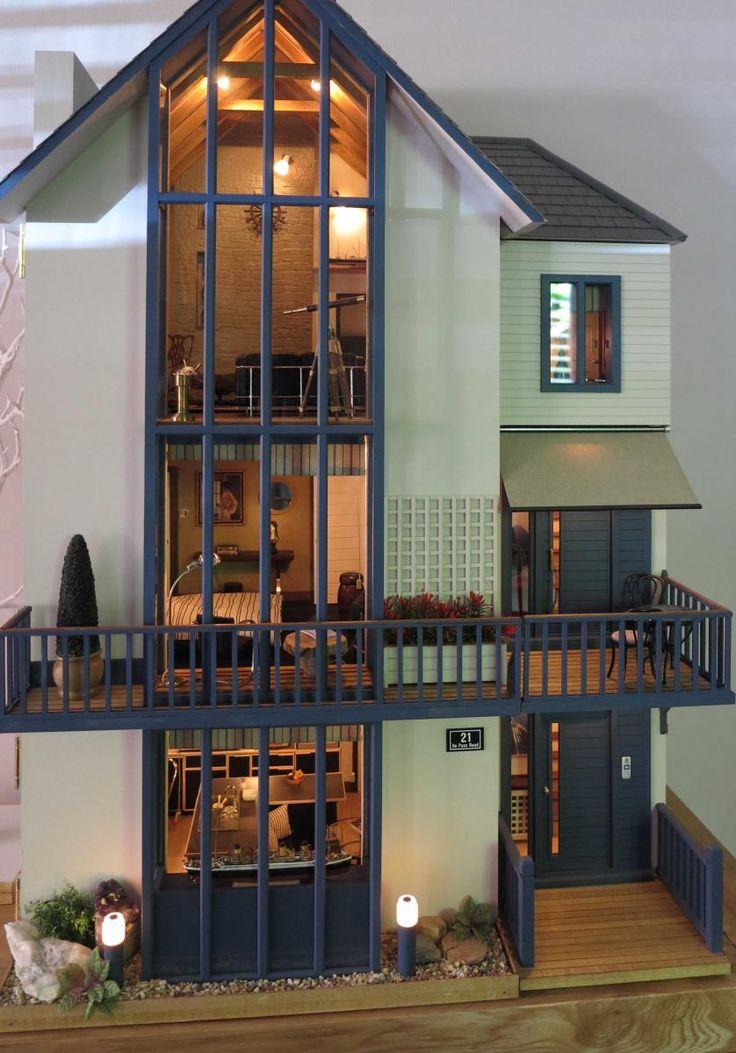 New Ideas, Miniature Dollhouse, Kid Projects, Playmobil, Furniture Ideas,  Doll Houses, Fun Things, Barbie, Hobbies