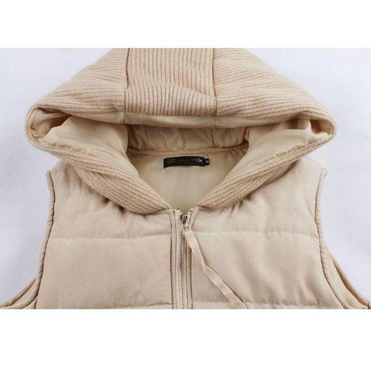 Maternity Vest and Winter Sleeveless Jacket