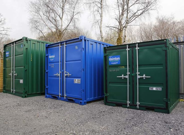 dainton portable buildings have new steel container minisets for hire or sale as storage containers - Storage Containers For Sale