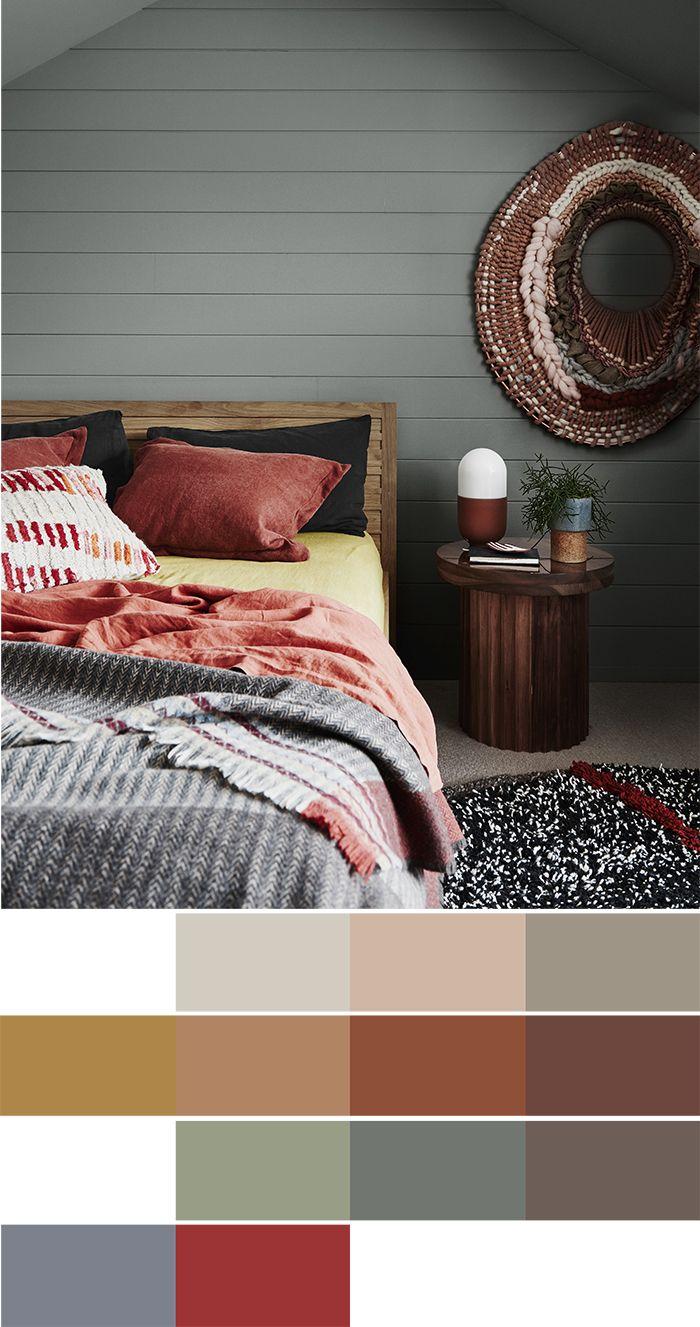 2018 interiors colour trends - Kinship palette