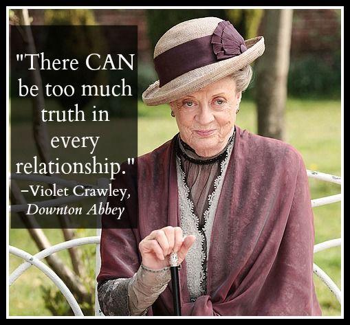 Quote from Downton Abbey Season 4 Premiere