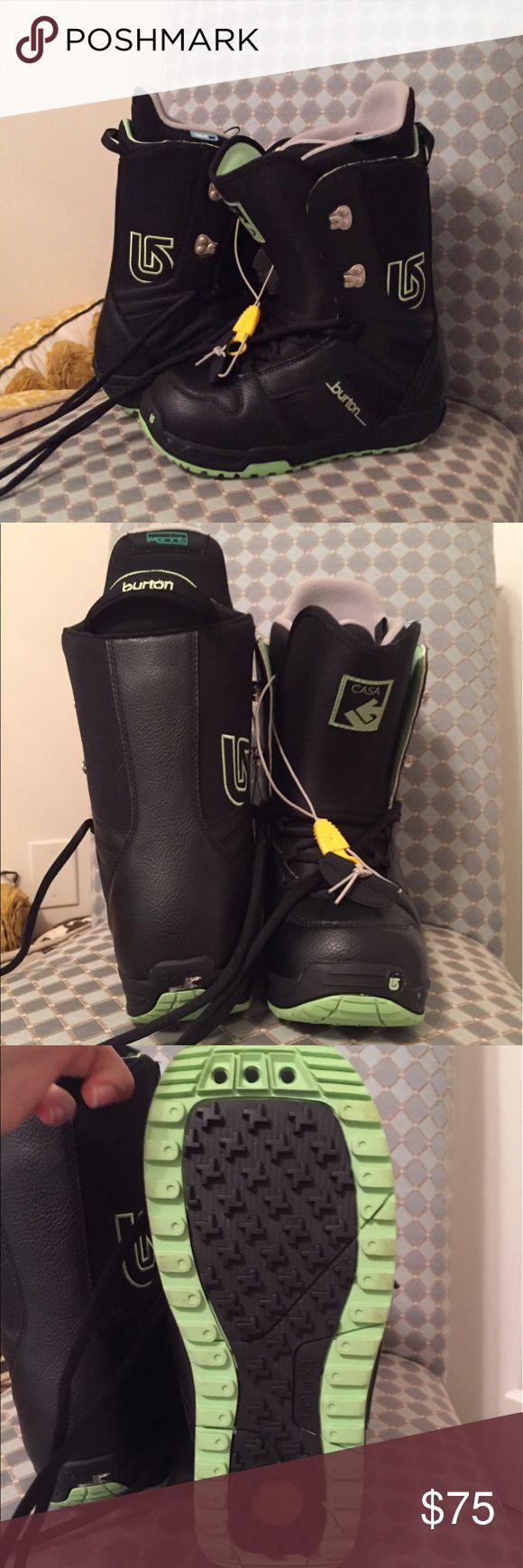 Burton women's casa snowboard boots Like new! Only worn twice, great for beginners! Burton Shoes