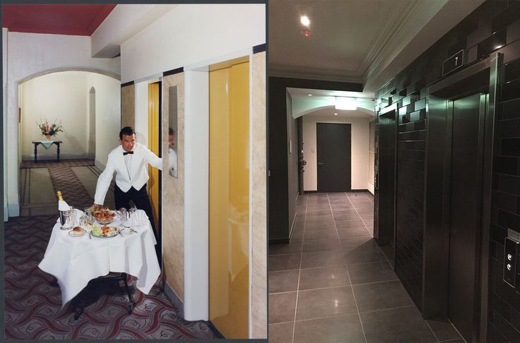 Hampton Court Hotel interior, Kings Cross 1965 > 2016. [National Library of Australia > Shaun Ewing. By Shaun Ewing]