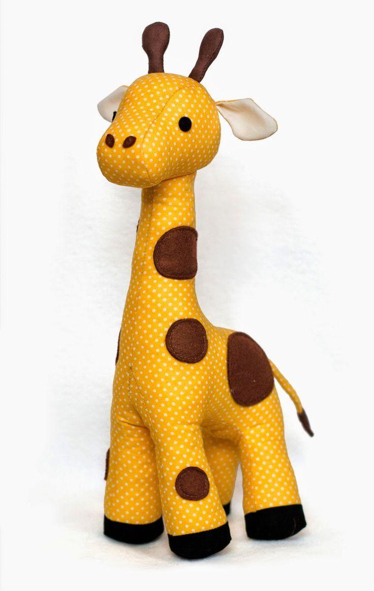 Giraffe sewing pattern