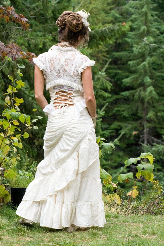 long hemp skirt wrap around ruffle hippie boho eco