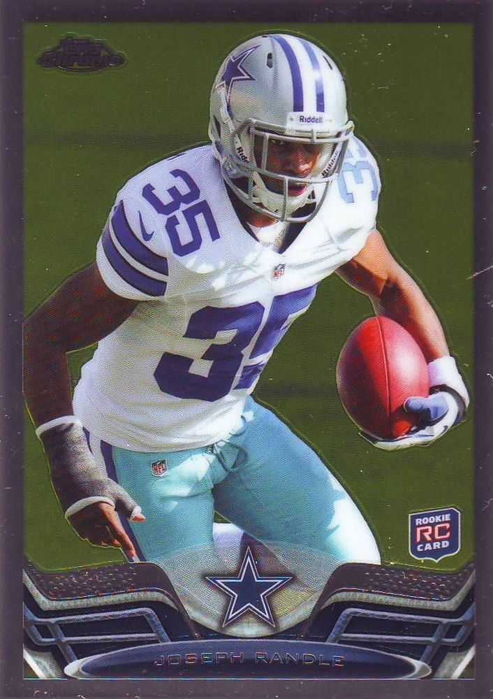 2013 Topps Chrome Joseph Randle Rookie #29 MINT FROM PACK #DallasCowboys