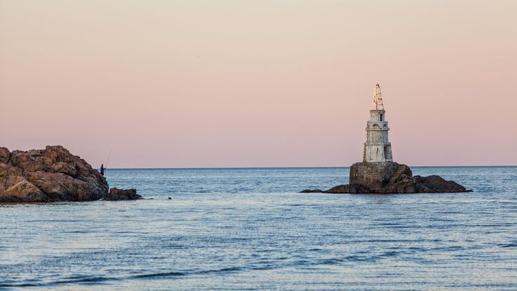 Lighthouse - The lighthouse in Ahtopol