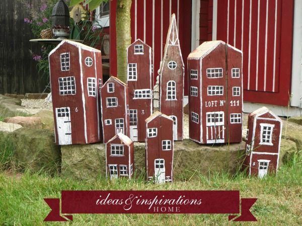 Kleine Deko Holzhauser Home Ideen