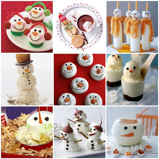 Snowman themed party