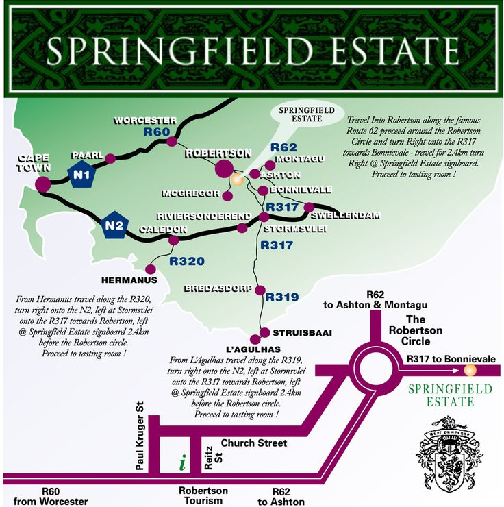 Springfield map - Robertson