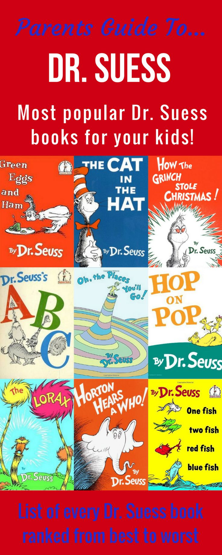 Best Dr. Suess Books