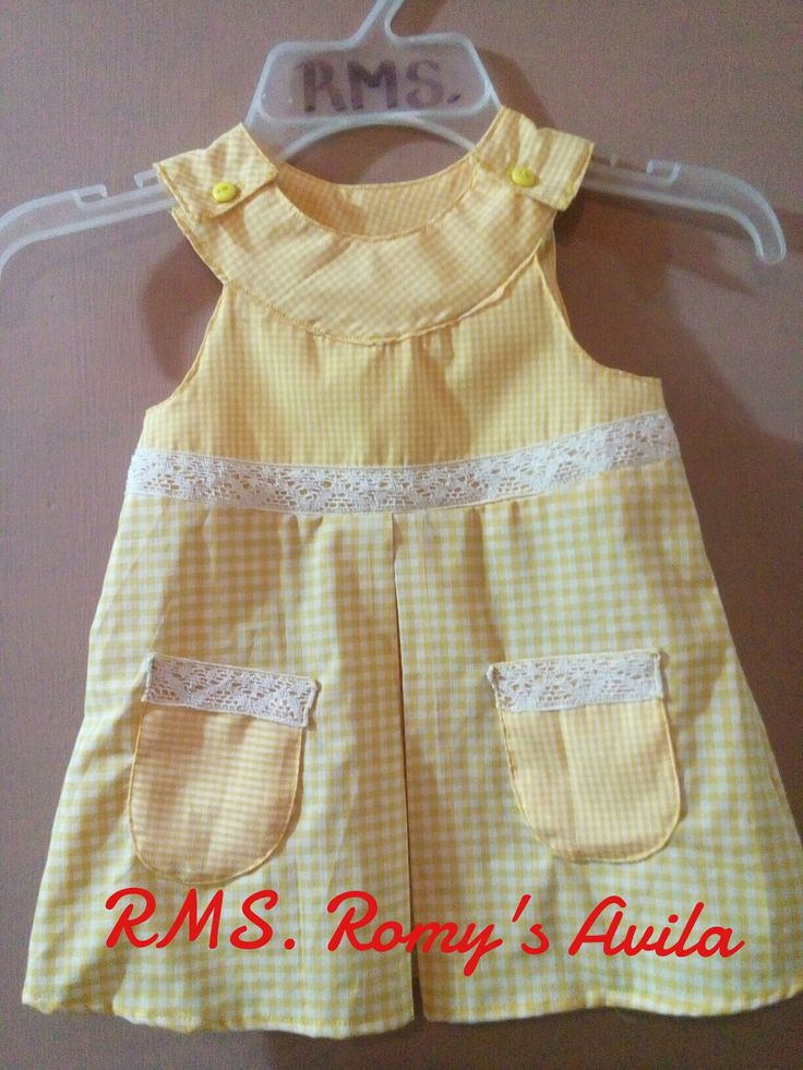 Vestido p/bebe 6m. RMS...