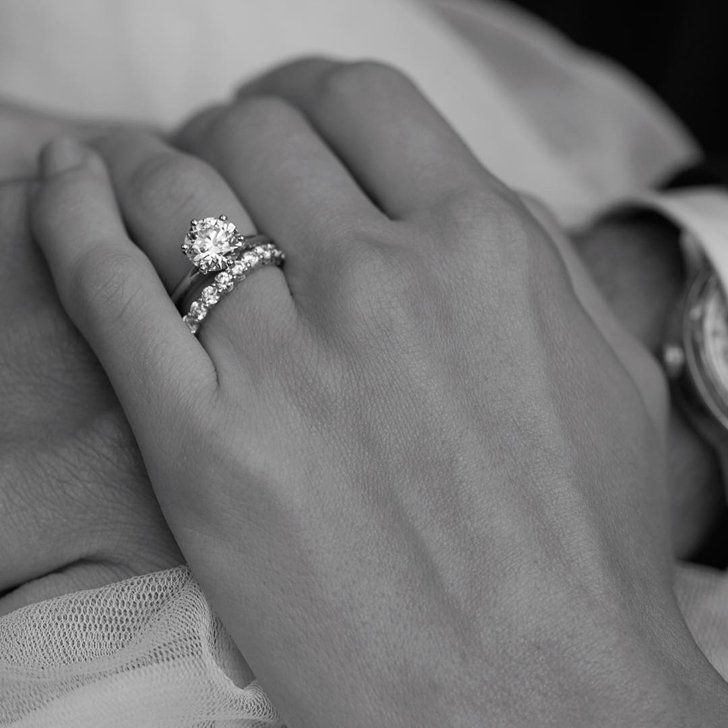 "Pin for Later: 18 Fascinating Things You Never Knew About Tiffany & Co. Saying ""I Do"" The brand introduced the Tiffany setting in 1886 and the cut is still the world's most popular engagement ring."