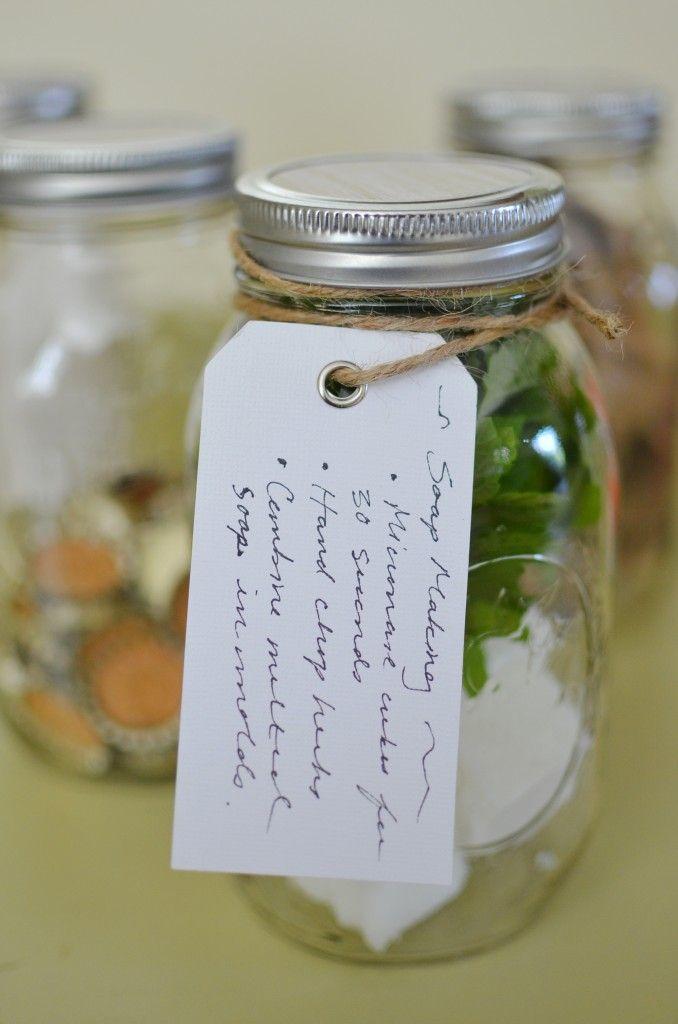 Crafty Mason Jar Gifts :: a craft project in a jar. Great gift!: Small Crafts, Mason Jar Gifts, Gifts Ideas, Crafts Projects, Crafty Gifts, Crosses Stitches, Crafts Kits, Mason Jars Gifts, Crafty Mason
