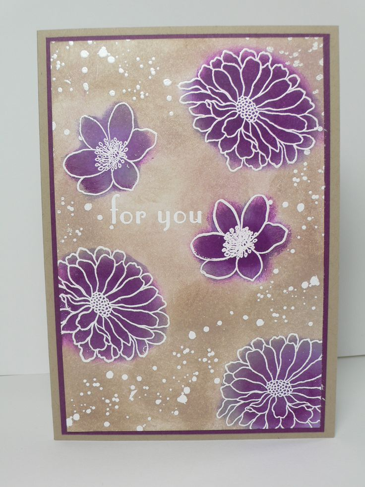 Forever Florals For you card  Stampin' Up! by Ophelia Crafts - for supplies please go to opheliacrafts.stampinup.net Thanks!