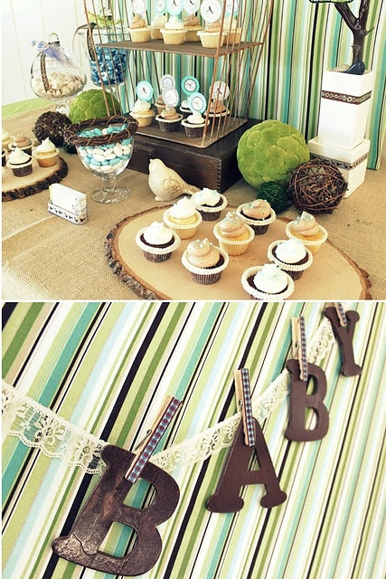 """its bird, but might have some ideas """"woodland"""" theme  Baby shower ideas"""