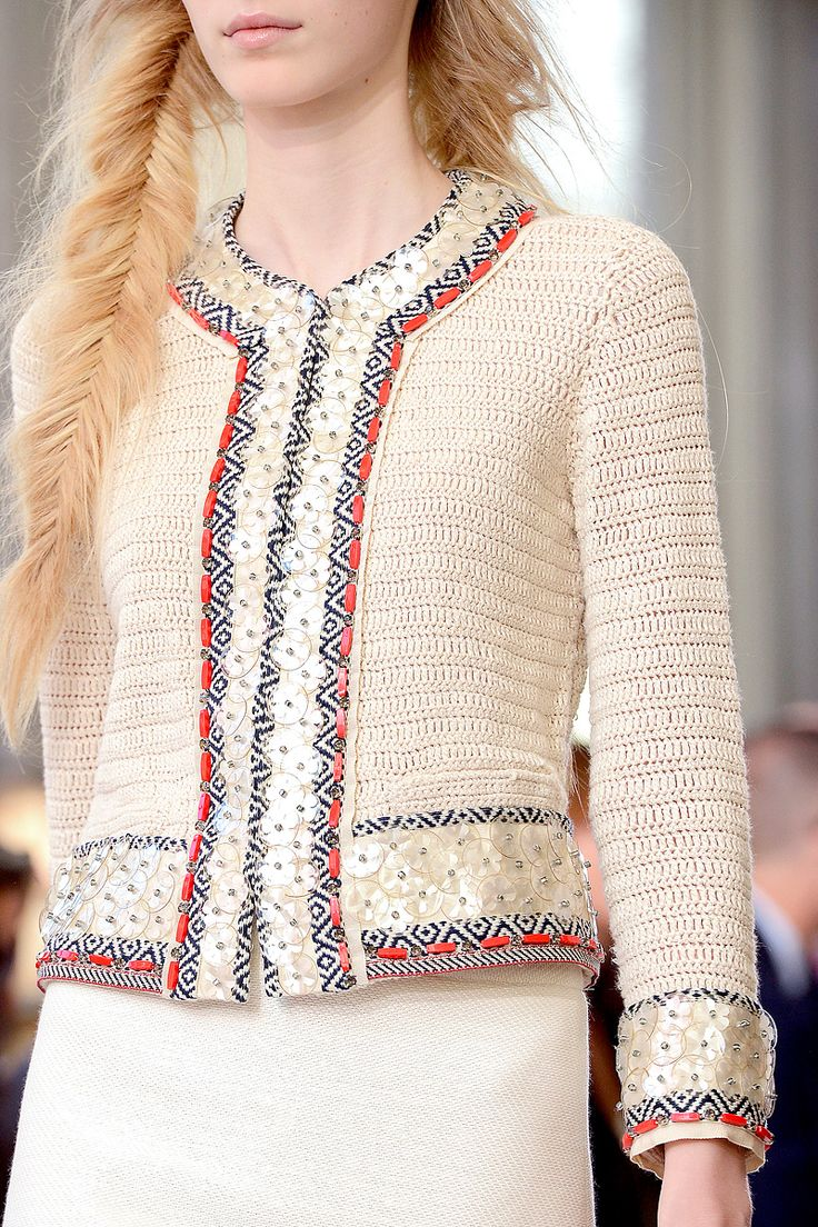 Tory Burch Spring 2013 fashion jacket white women apparel trend work clothes suit wear