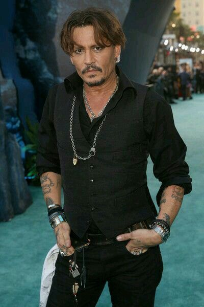 It's Johnny Depp, what more needs to be said?