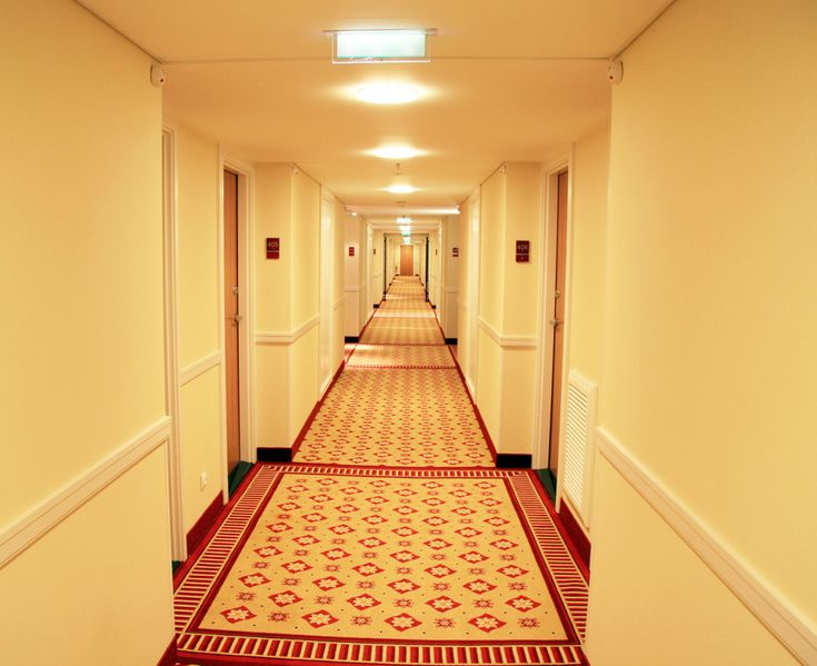 Hotel designs view image corridor lighting by suprin for Hotel design nice