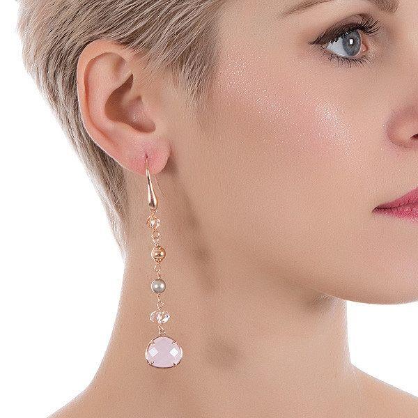 Kolczyki Boccadamo XOR110RS - Biżuteria Pandora. Pierścionki zaręczynowe - Sklep Fugart.pl