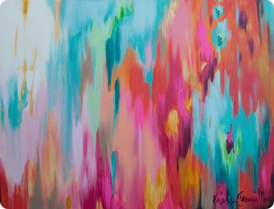 Large Abstract Art Canvas (That Doesn't Break the Bank!)
