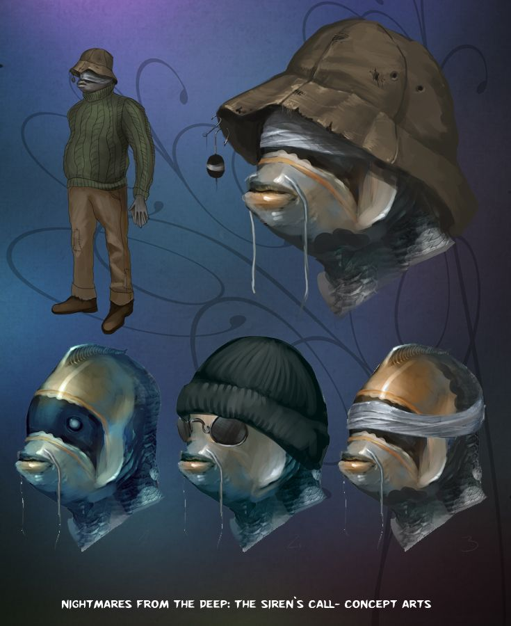 Talk to the fish! #nightmares #kraken #artifexmundi  www.facebook.com/NightmaresFromTheDeep    http://www.artifexmundi.com/page/piraci2